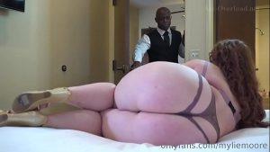 imagen Mylie Moore hot bbw interracial sex with black