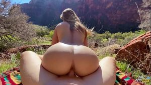 imagen Perfect Body Hiker Fucked Hard in Nature – Molly Pills – Outdoor Public POV HD
